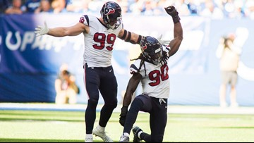 Texans' Watt, Clowney, Hopkins, McKinney selected to 2019 Pro Bowl