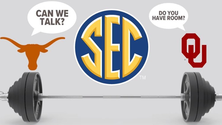 What's at stake if the University of Texas and Oklahoma move to the SEC?