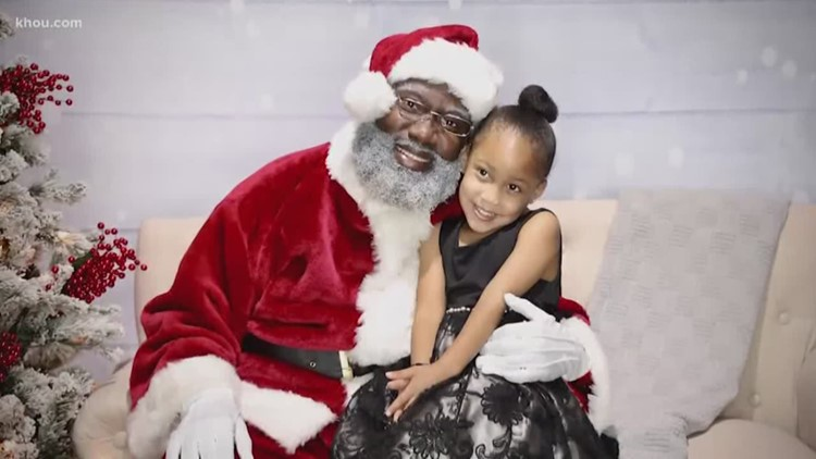 What does Santa look like to you? Black Santa Houston sells out events