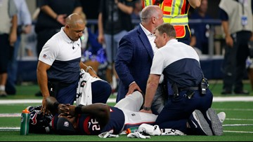 Reports: Texans Lamar Miller out for season with ACL tear
