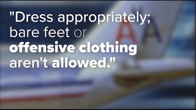 American Airlines Dress Code Policy