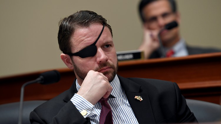 U.S. Rep. Dan Crenshaw temporarily blinded after emergency eye surgery