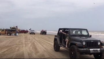 18 crashes, more than 115 arrests on Bolivar Peninsula during 'Go Topless' Jeep weekend, sheriff says