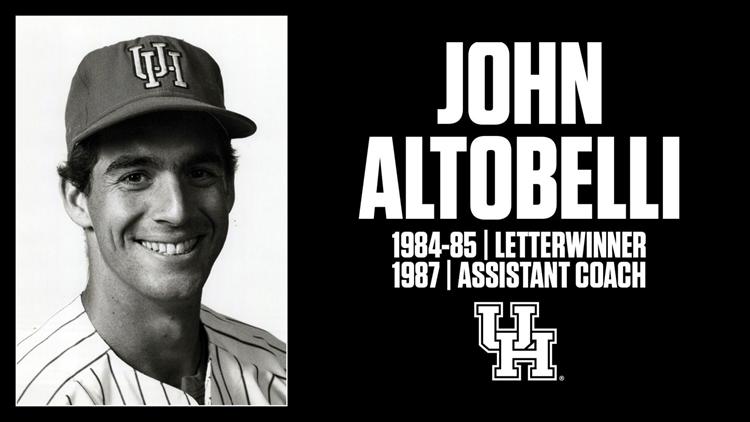 John Altobelli UH University of Houston graphic