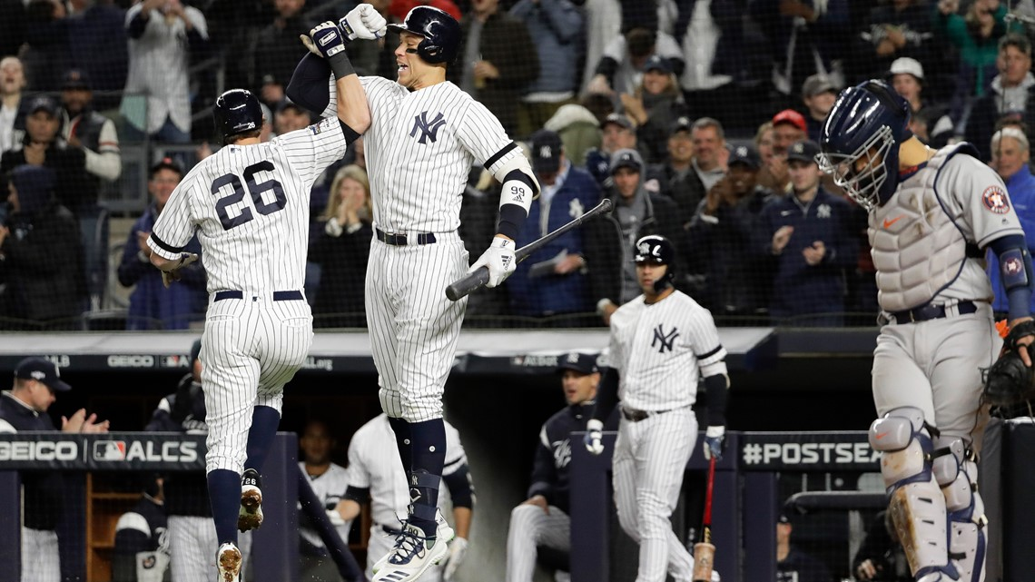 Yankees top Houston, 4-1; Astros still lead ALCS 3-2