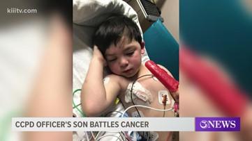 Corpus Christi police officer's son battles cancer