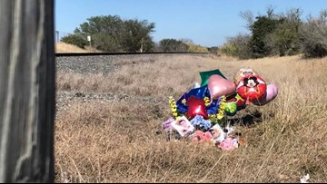 5-year-old girl dies in hospital after railroad crossing collision in Mathis