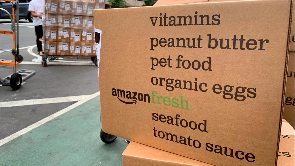 Amazon Fresh grocery delivery launches in Austin