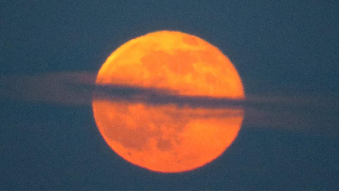 Don't miss it: Strawberry Moon graces night sky