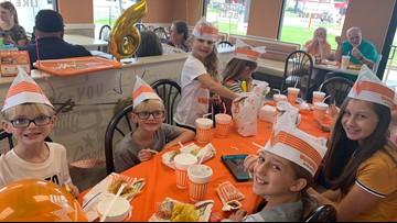 'Best birthday ever,' Vidor Whataburger staff goes above and beyond to throw party for 6-year-old