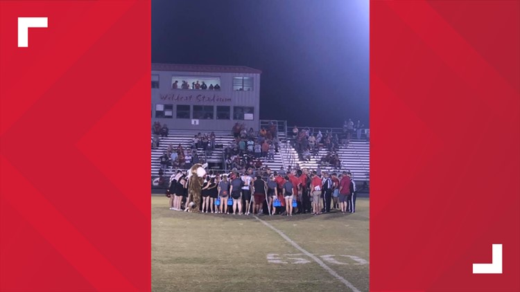 Kirbyville player severely injured 9-7-2019