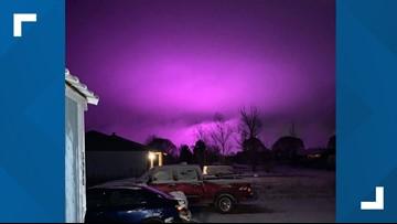 Medical marijuana farm creates purple hazy sky over Arizona town