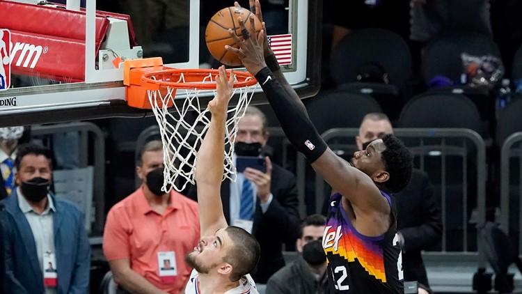 Deandre Ayton's last-second dunk seals miracle win for Phoenix Suns
