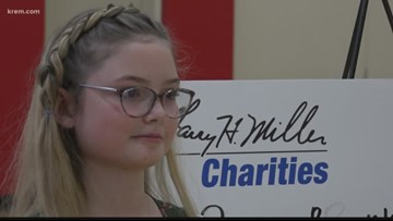 Washington student gives $10,000 to help students pay lunch balances