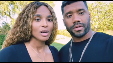 Russell Wilson and Ciara  donate 1 million meals to Seattle food bank