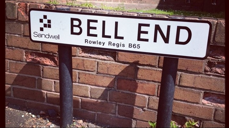 The street name, which pays homage to male genitalia, has made those who live on and near the street a 'laughing stock,' said a Change.org petition.