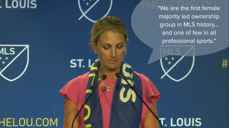 St. Louis becomes the first female majority-owned club in MLS history