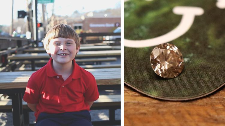 7-year-old Arkansas boy returns lost engagement ring diamond found in gravel