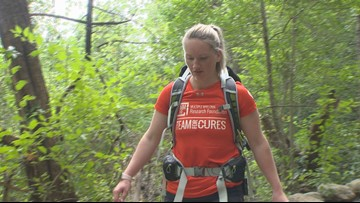 Moving Mountains: Rare form of blood cancer given hope through hiking