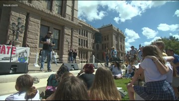 Activists take fight against climate change to the Texas Capitol