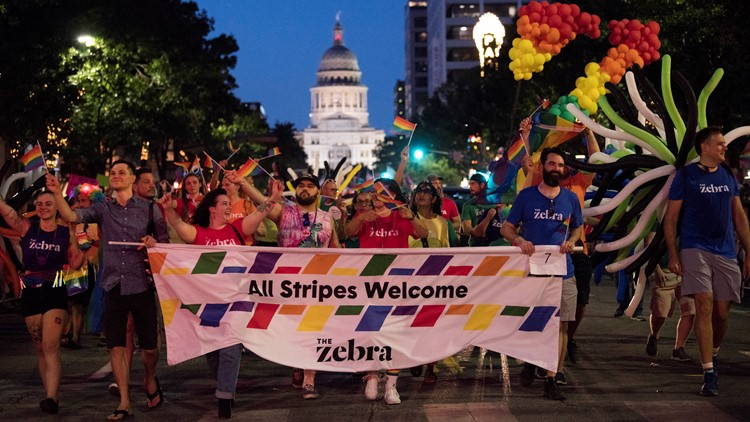 Austin Pride Parade 2019: KVUE 'boogies' the night away with LGBTQ+ community