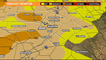 Drought conditions improving across Central Texas