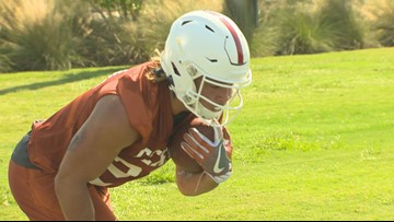 Texas opens fall camp with commitment to culture