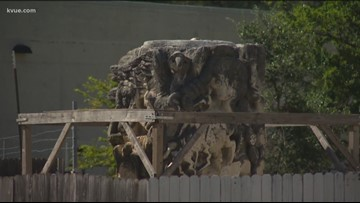 City of Austin wants to remove 'Chicano Rock' sculpture