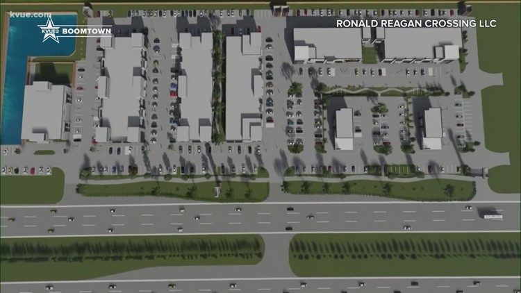 New mixed-use development breaks ground in Leander