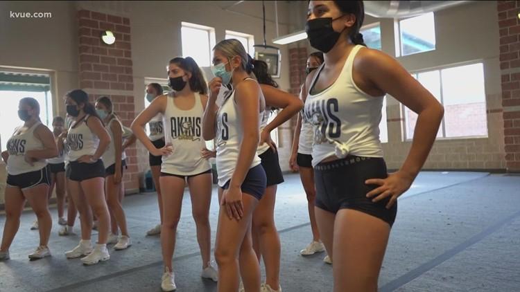 Behind the Poms: Akins High School Varsity Cheer