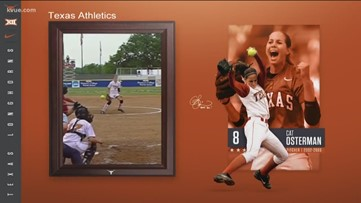 Texas Longhorns to retire Cat Osterman's No. 8 jersey