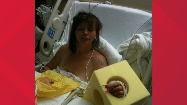 Laura Vasquez, former crack cocaine user