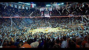 Meet the Texas Longhorns basketball teams this weekend on Bevo Blvd. before Kansas football game