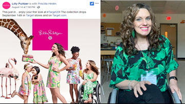 'We don't have to be limited': Paralyzed Pflugerville woman featured in Target and Lilly Pulitzer ad
