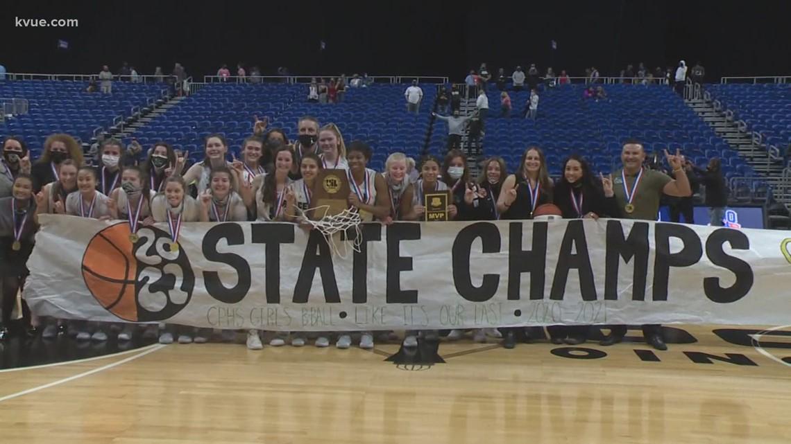 Cedar Park girls basketball win 1st state championship