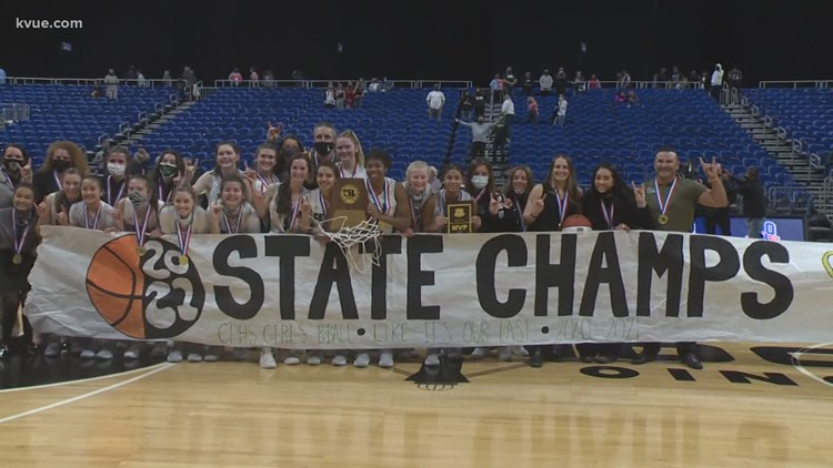 Cedar Park girls basketball win 1st state championship