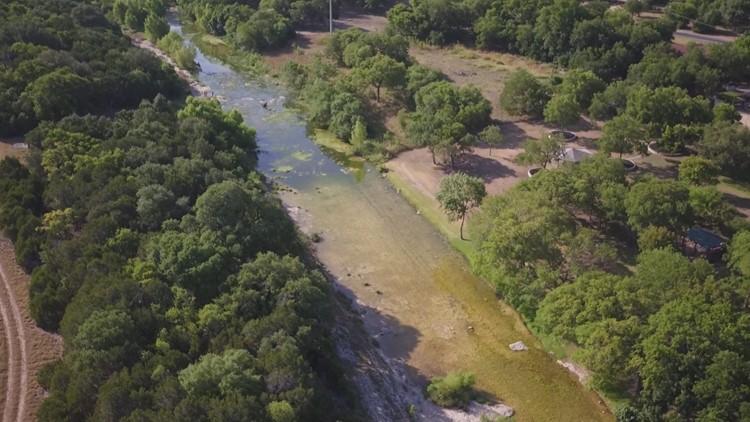 South San Gabriel River