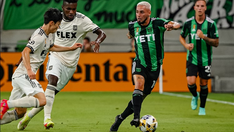 Austin FC falls to LAFC for third time this season