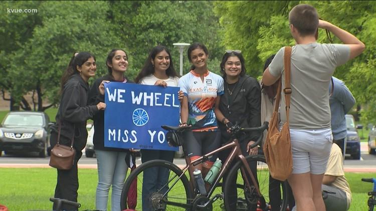 85 UT students set off on 4,000-mile bike ride for cancer awareness