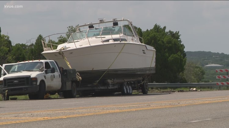 Say 'Bon Voyage' to the Bee Cave Boat, it's moving down SH 71