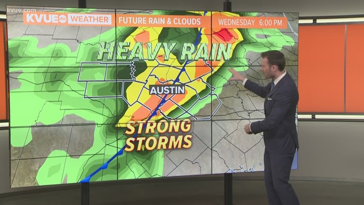 FORECAST: Breezy & muggy; storm chances return middle of the week