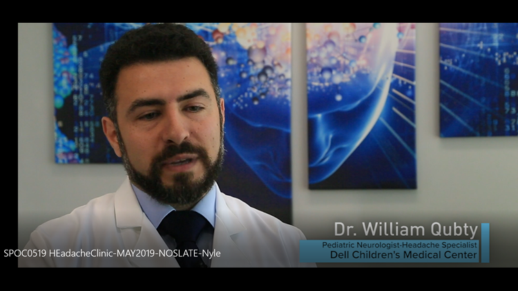 Spirit of Caring: Spotlight on the Headache Clinic featuring Dr. William Qubty at Dell Children's Medical Center