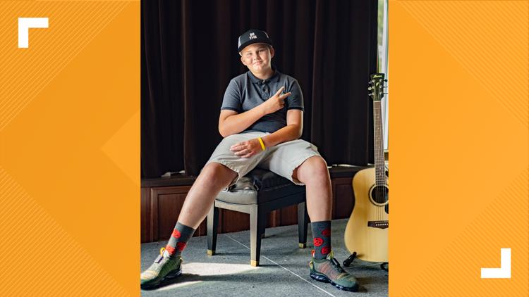Teen looking for forever family opens up about life in rap song with Grammy-nominated artist