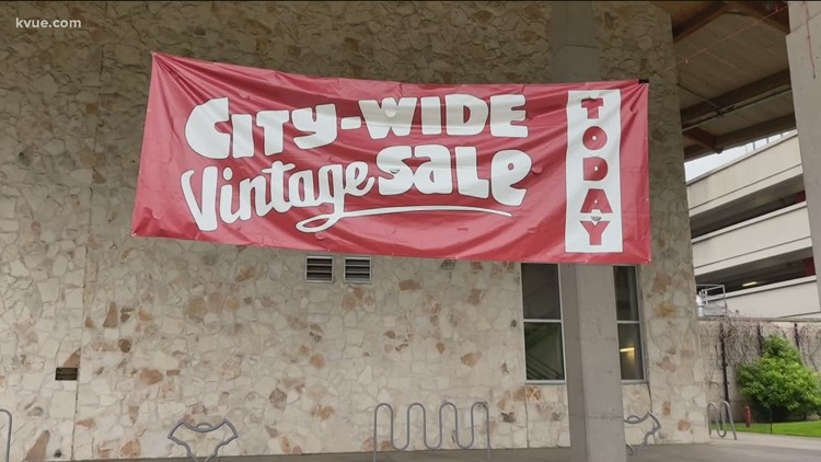 History of City-Wide Vintage Sale