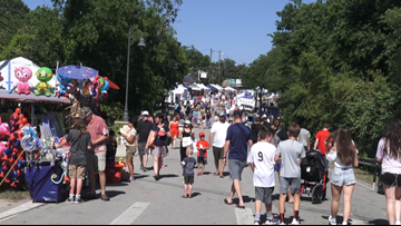 Thousands gather for annual 'Founders Day Fest' in Dripping Springs
