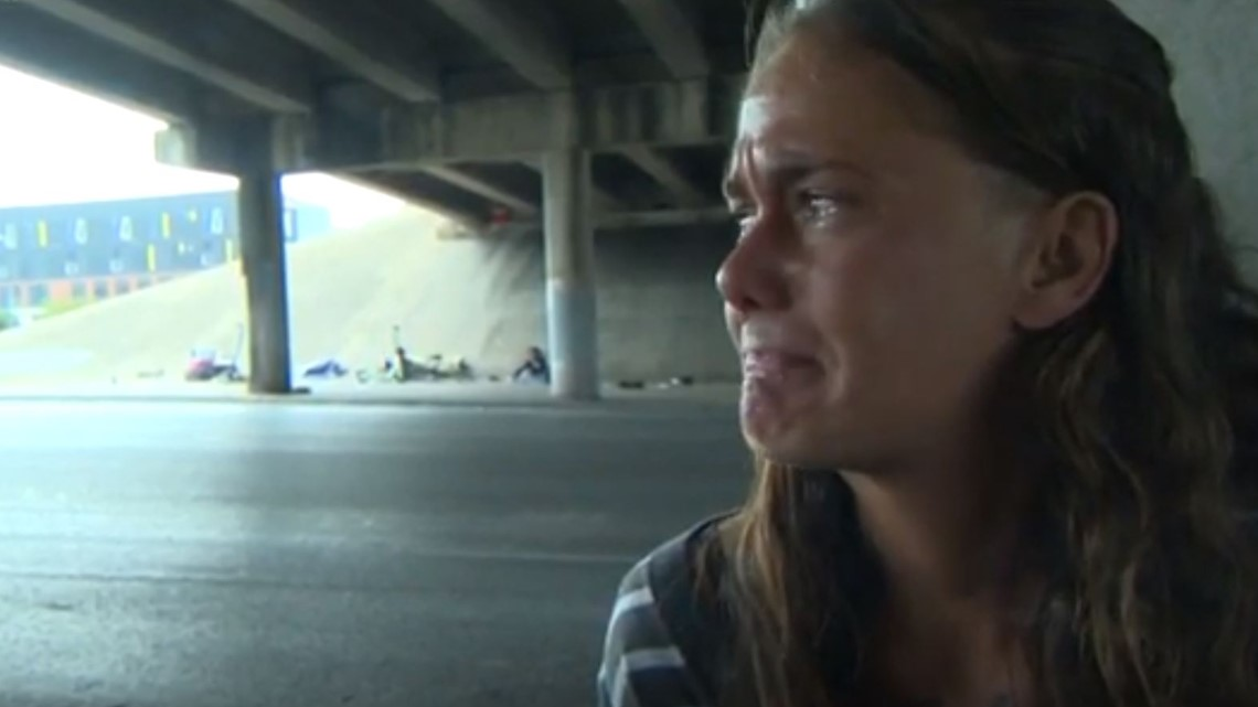 'There goes my home': TxDOT crews continue homeless camp cleanups under overpasses