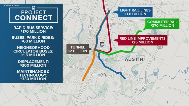Texas House initially passes bill to let CapMetro lease State land for Project Connect tunnel