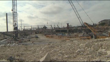 The latest on the construction of Austin FC's stadium