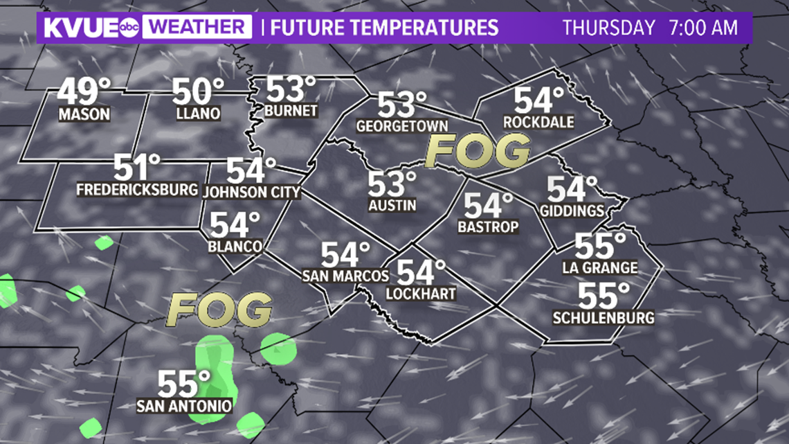 Weather forecast: Christmas in Austin 2019 | kvue.com