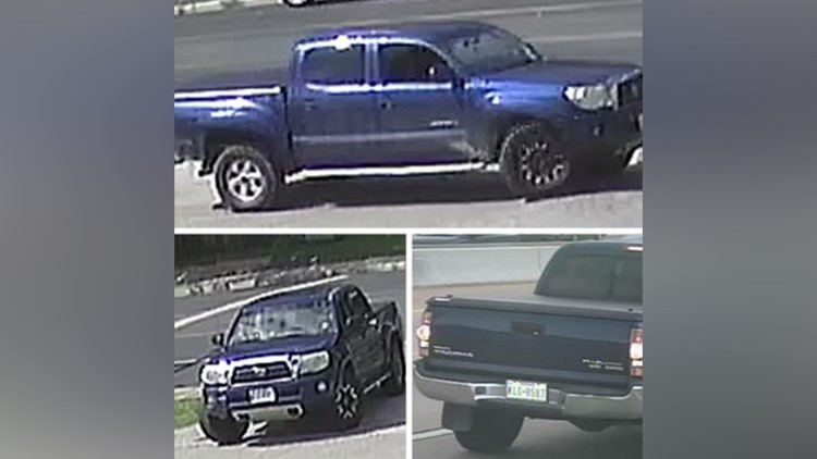 Truck seen in reported kidnapping